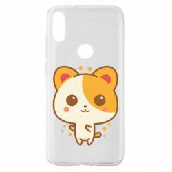 Чехол для Xiaomi Mi Play Милая кися