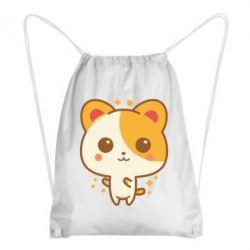 Рюкзак-мішок Мила кися