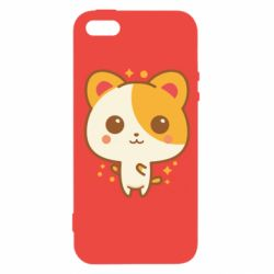 Чехол для iPhone5/5S/SE Милая кися