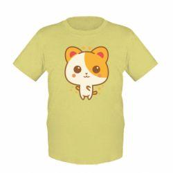 Детская футболка Милая кися