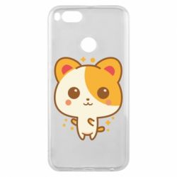 Чехол для Xiaomi Mi A1 Милая кися