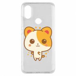 Чехол для Xiaomi Mi A2 Милая кися