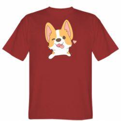 Чоловіча футболка Милий коргі