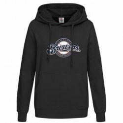 Женская толстовка Milwaukee Brewers - FatLine