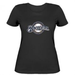 Женская футболка Milwaukee Brewers - FatLine
