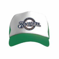 Дитяча кепка-тракер Milwaukee Brewers