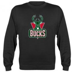 Реглан (свитшот) Milwaukee Bucks - FatLine