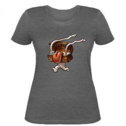 Женская футболка Mimic