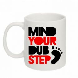 Кружка 320ml Mind Your Dub Step