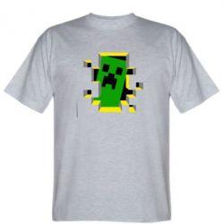 Мужская футболка Minecraft 3D - FatLine