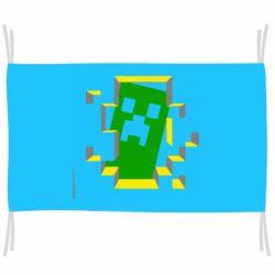 Прапор Minecraft 3D