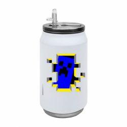 Термобанка 350ml Minecraft 3D