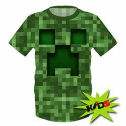 Дитячі футболки Minecraft (Майнкрафт) - купити в Києві 07af4dc3bf722