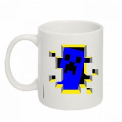 Кружка 320ml Minecraft 3D - FatLine