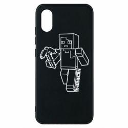 Чехол для Xiaomi Mi8 Pro Minecraft and hero nickname
