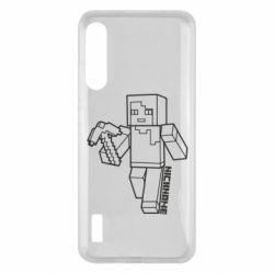 Чохол для Xiaomi Mi A3 Minecraft and hero nickname