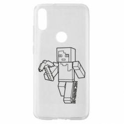 Чехол для Xiaomi Mi Play Minecraft and hero nickname