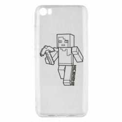 Чехол для Xiaomi Mi5/Mi5 Pro Minecraft and hero nickname