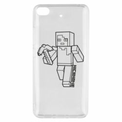 Чехол для Xiaomi Mi 5s Minecraft and hero nickname