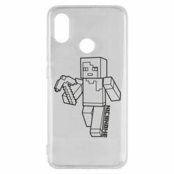 Чехол для Xiaomi Mi8 Minecraft and hero nickname