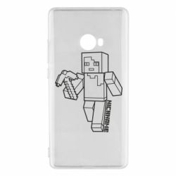 Чехол для Xiaomi Mi Note 2 Minecraft and hero nickname