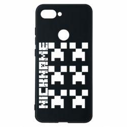 Чохол для Xiaomi Mi8 Lite Minecraft and nickname