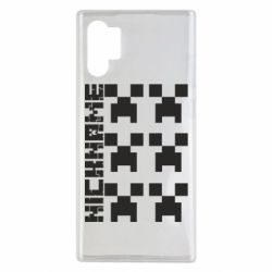 Чохол для Samsung Note 10 Plus Minecraft and nickname