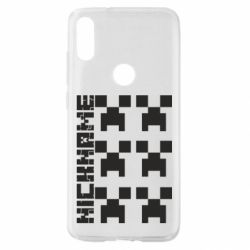 Чохол для Xiaomi Mi Play Minecraft and nickname