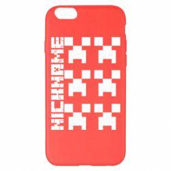 Чохол для iPhone 6 Plus/6S Plus Minecraft and nickname