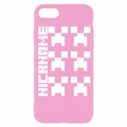 Чохол для iPhone 7 Minecraft and nickname
