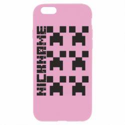 Чохол для iPhone 6/6S Minecraft and nickname