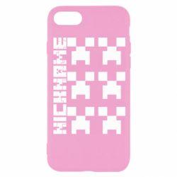 Чохол для iPhone 8 Minecraft and nickname