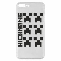 Чохол для iPhone 8 Plus Minecraft and nickname
