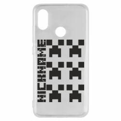 Чохол для Xiaomi Mi8 Minecraft and nickname