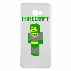 Чехол для Samsung J4 Plus 2018 Minecraft Batman