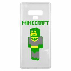 Чехол для Samsung Note 9 Minecraft Batman