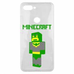 Чехол для Xiaomi Mi8 Lite Minecraft Batman