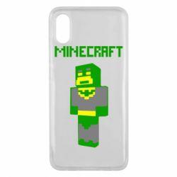 Чехол для Xiaomi Mi8 Pro Minecraft Batman