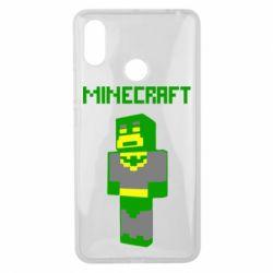 Чехол для Xiaomi Mi Max 3 Minecraft Batman