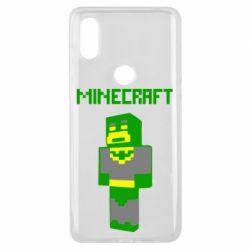 Чехол для Xiaomi Mi Mix 3 Minecraft Batman