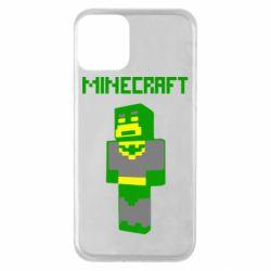 Чехол для iPhone 11 Minecraft Batman