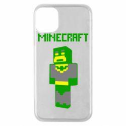 Чехол для iPhone 11 Pro Minecraft Batman