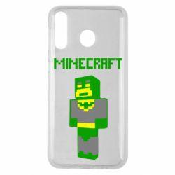 Чехол для Samsung M30 Minecraft Batman