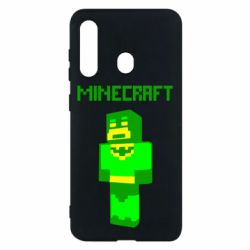 Чехол для Samsung M40 Minecraft Batman