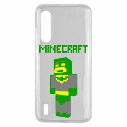Чехол для Xiaomi Mi9 Lite Minecraft Batman