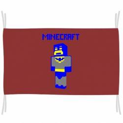 Флаг Minecraft Batman