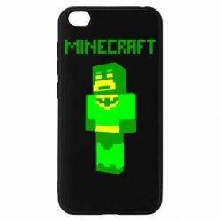 Чехол для Xiaomi Redmi Go Minecraft Batman