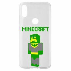 Чехол для Xiaomi Mi Play Minecraft Batman
