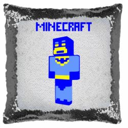 Подушка-хамелеон Minecraft Batman