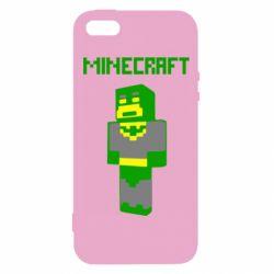 Чехол для iPhone5/5S/SE Minecraft Batman